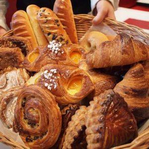 Assorted breakfast breads