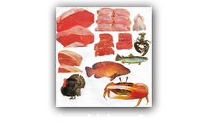 Meats, Chicken & Fish
