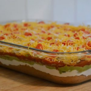 5 layer bean dip light catering_preview