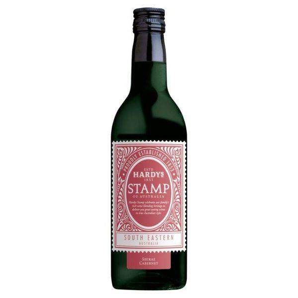 Hardys-Stamp red